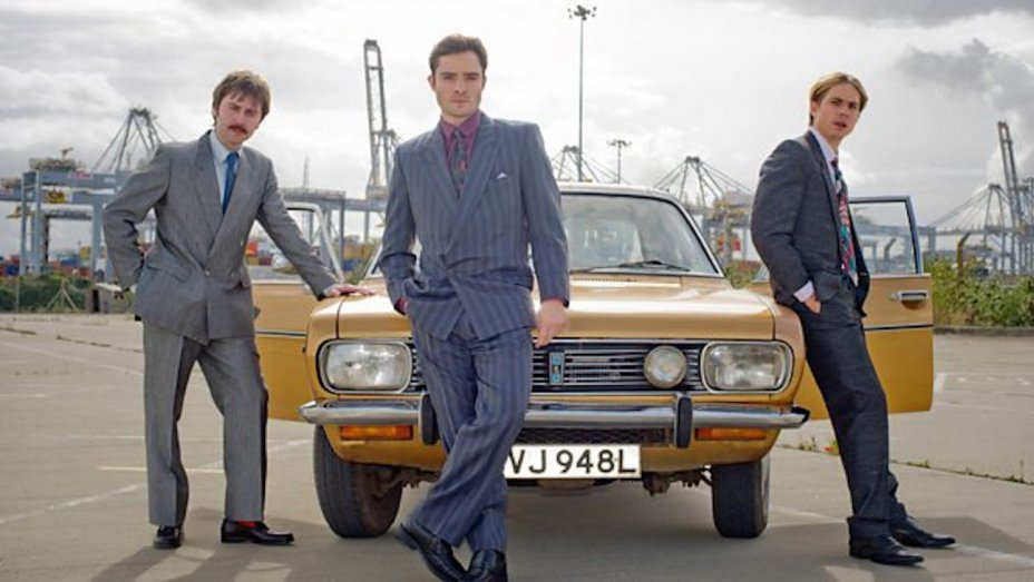Ed Westwick on Playing a 1980s Salesman in New BBC Comedy 'White Gold'