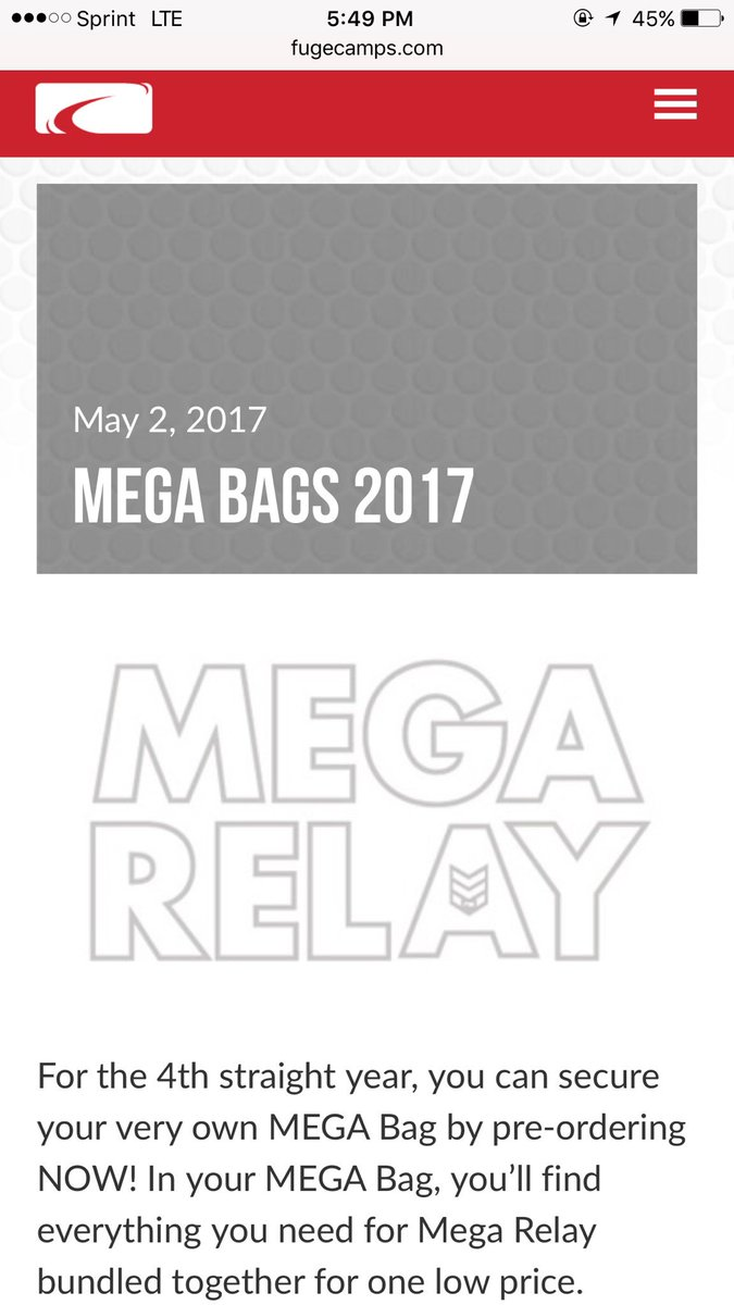 test Twitter Media - DON'T FORGET YOUR MEGA BAGS!! Bag, sweatbands, headband, t-shirt, socks, and water bottle!! Order them by May 26!!! https://t.co/NCsMxIHPKq https://t.co/87S0N5wZvw