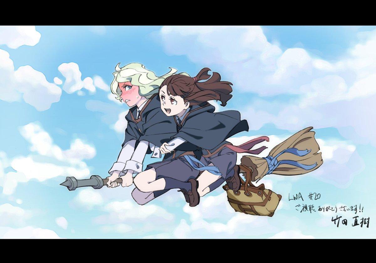 TVアニメ『リトルウィッチアカデミア』各話イラストを公開!!第20話は「竹田直樹」さんに描いて頂きました!!第20話の用
