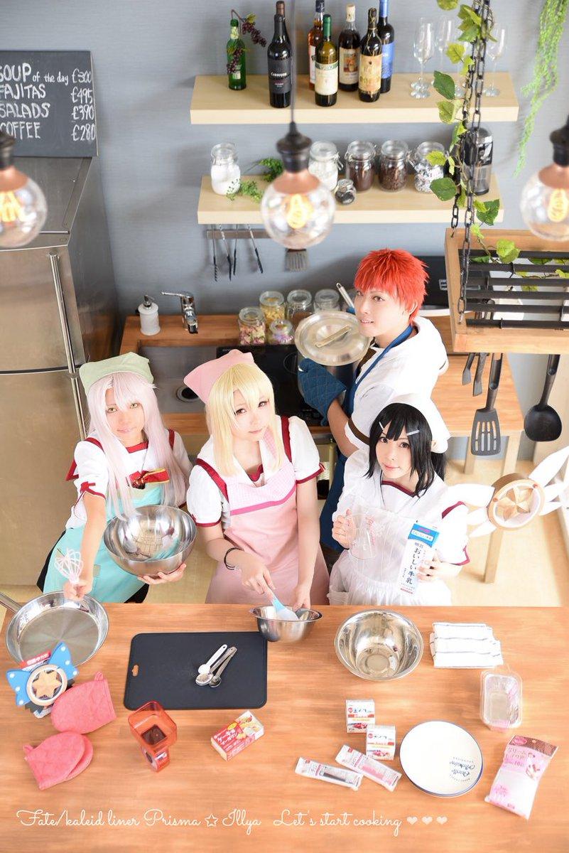 *コスプレFate/kaleid liner プリズマ☆イリヤYes! Sweet sweet moment🍓イリヤ:紗