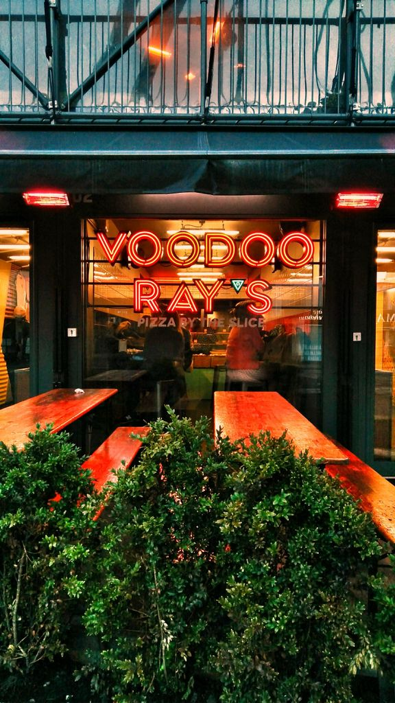 Voodoo Rays London's Best Pizza By the Slice