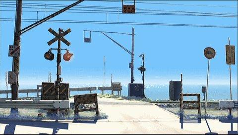おまけその2新海誠監督の「雲の向こう、約束の場所」で出てきた津軽線桜町踏切は竜飛岬に向かう途中、蟹田駅手前にありますん