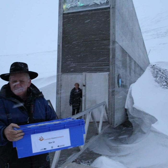 Upgrade on Svalbard Global Seed Vault to prevent permafrost melt from harming seeds