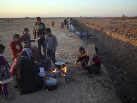 Boundary between Iraqi, Kurdish territories divides communities
