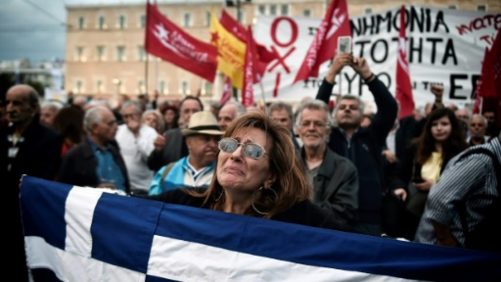Greece demands debt relief from wary eurozone