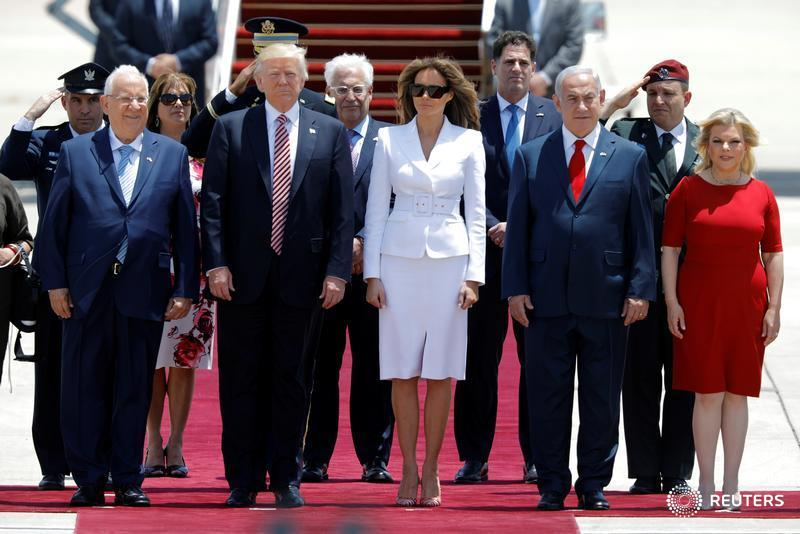 Monday Morning Briefing: Trump tours Israel, and Ford expected to fire CEO Mark Fields