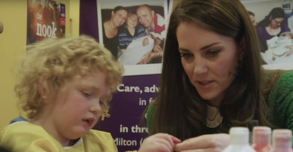 Kate Middleton begins Children's Hospice Week with an inspirational PSA: