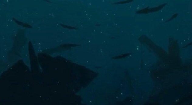 蒼穹のファフナーEXODUSの後期OP。クウガの最終回OPで一瞬だけ映る、青空に向かってサムズアップする五代の手。ジョジ