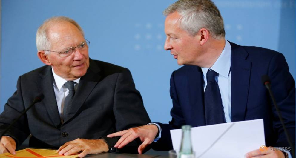 Germany's Schaeuble hopes for a deal on Greece on Monday