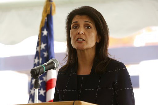 Haley wants UN to shift aid focus to nations hosting Syrians