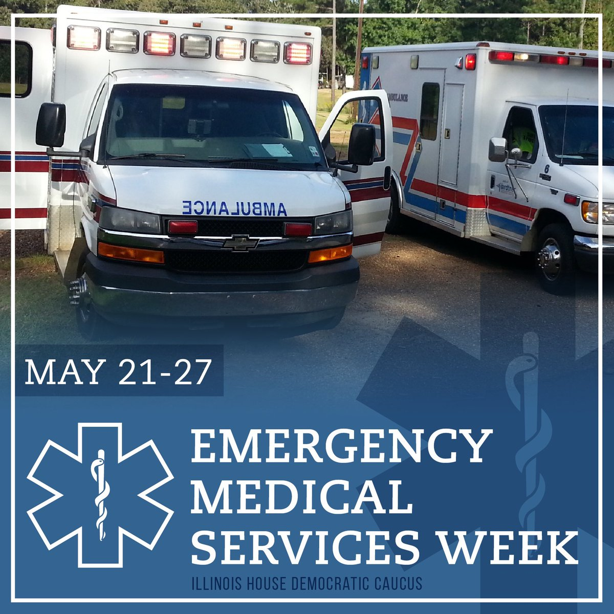 test Twitter Media - May 22 - 26 is National Emergency Medical Services Week. RT to show your appreciation to EMS providers in our community! #EMSWeek https://t.co/WrcuundBNl