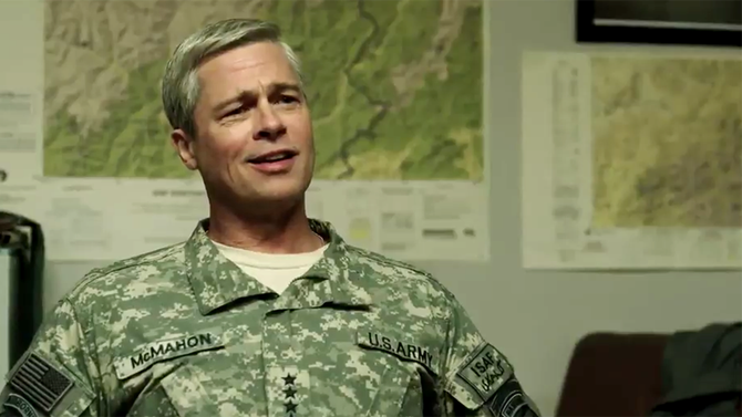 Film Review: Brad Pitt in  @Netflix's