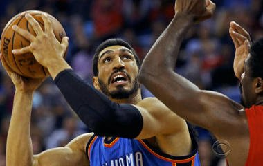 """I'm getting death threats almost every day,"" Turkish-born NBA player Enes Kanter says"