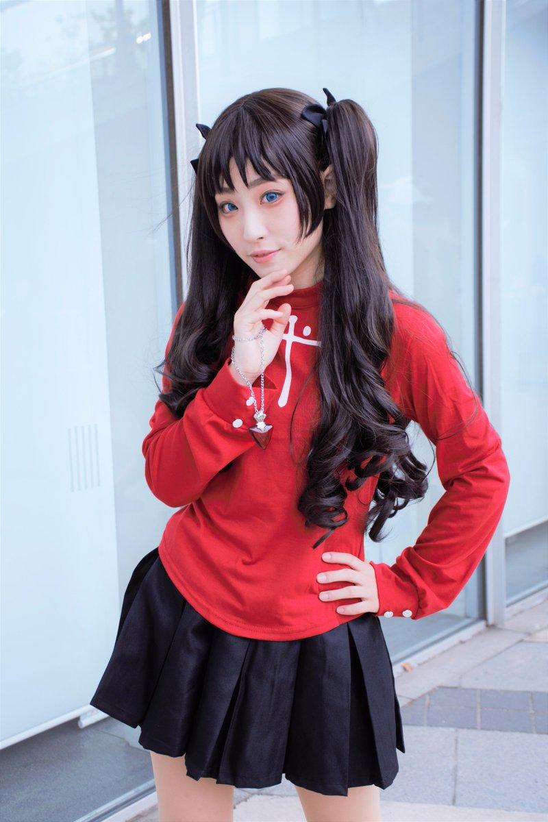 【'17.04.29 ニコニコ超会議2017 1日目】Cerealeさん:遠坂凛(Fate/stay night)初めて
