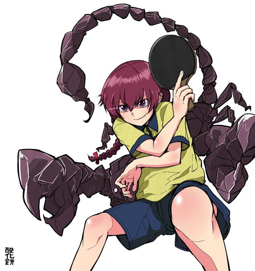 カッコいいカットの構えシリーズ最終回:蠍田幸子(灼熱の卓球娘)