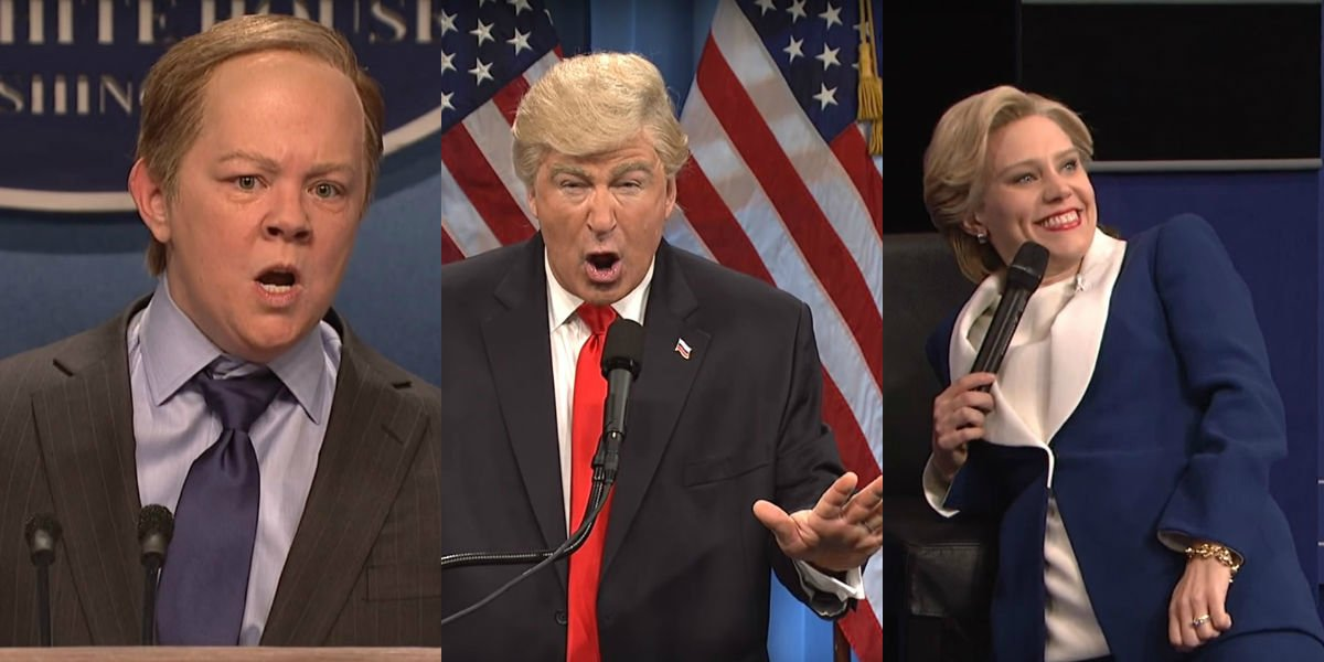 """Here are the 10 most popular political sketches on """"Saturday Night Live"""" this season"""