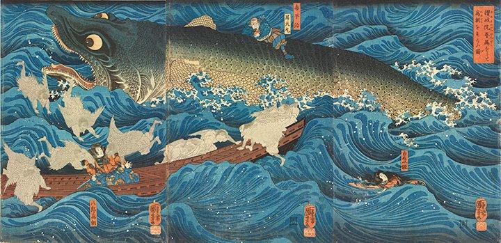 『八犬伝』や『弓張月』も 馬琴題材の浮世絵が集う『馬琴と国芳・国貞』展(6月2日~6月25日)