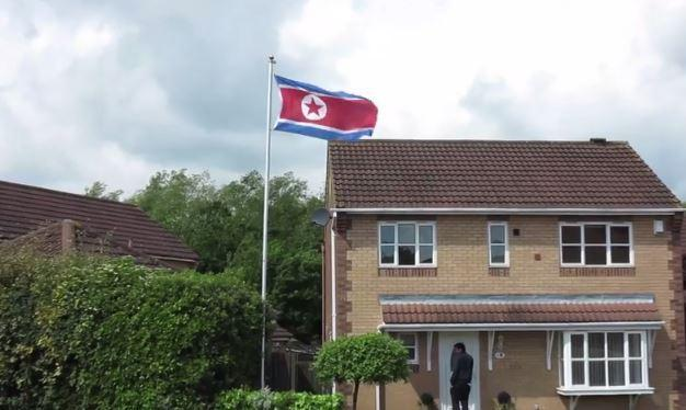 Middlesbrough resident who baffled neighbours by flying North Korea flag claims it was his children's idea – and they want a pirate one next