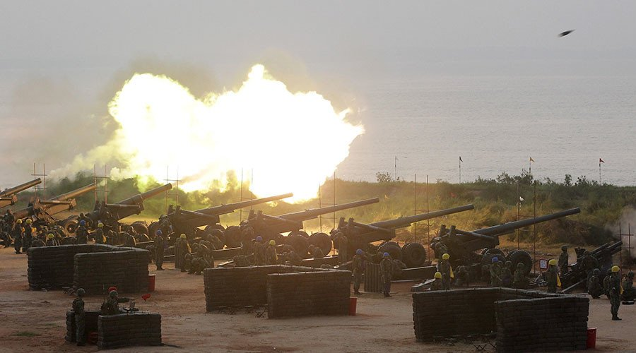Taiwan launches live fire drills aimed at fending off potential Chinese attacks - report