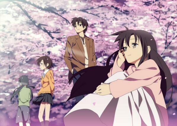 【秒速5センチメートル】・2007年・「桜花抄」「コスモナウト」、そして「秒速5センチメートル」の3本の短編から構成され