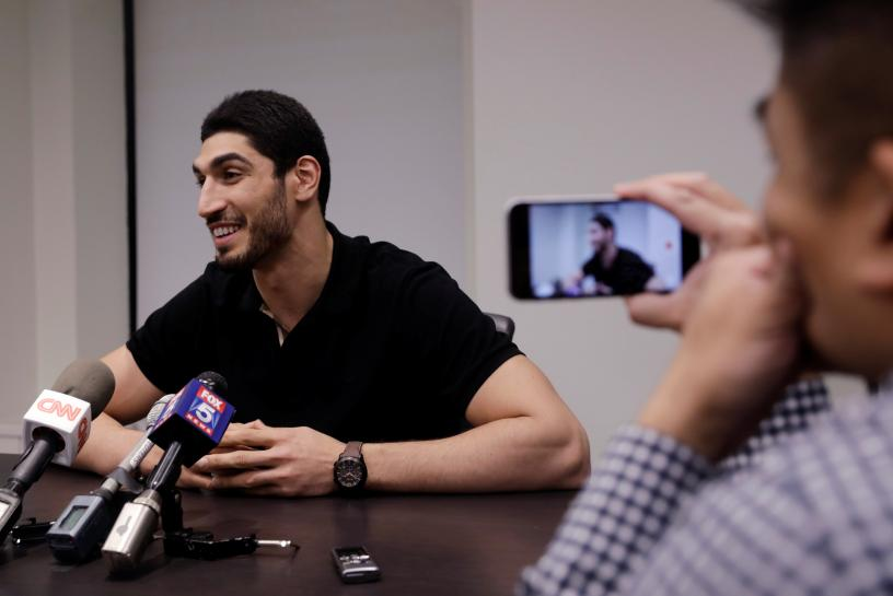 Turkish NBA star Kanter calls Erdogan 'Hitler of our century'