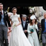 From bridesmaid to bride for Prince William's sister-in-law Pippa