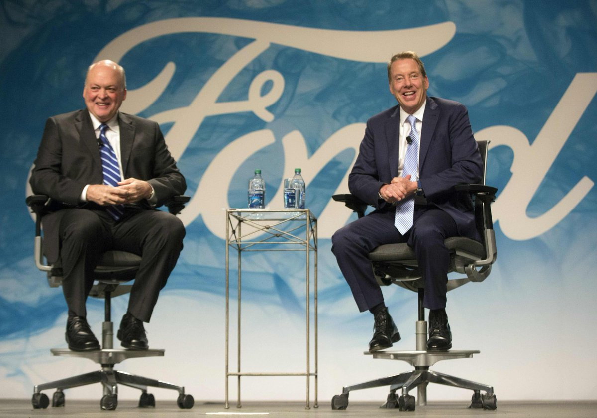 Ford shuffles executive ranks in its race to take on Silicon Valley
