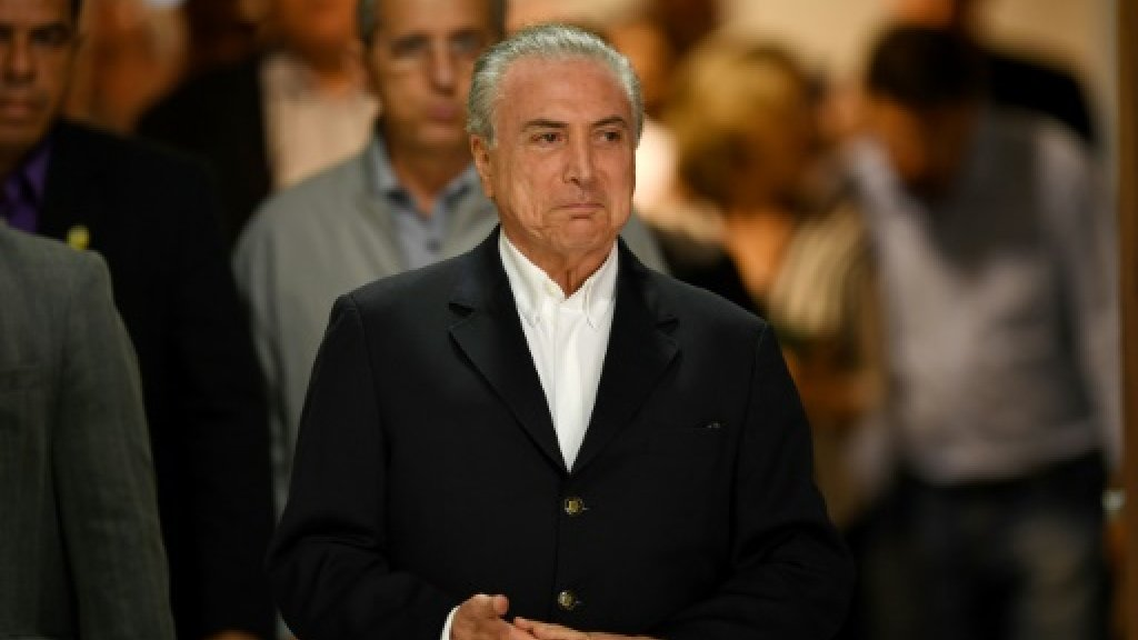 Brazil's Temer says 'naive' but not guilty