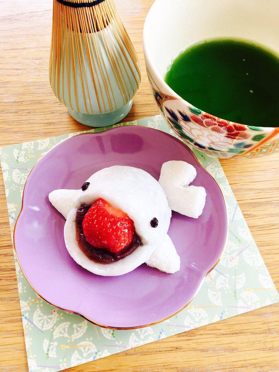 キラキラ☆プリキュアアラモード 16話の「シロイルカいちごだいふく」を作ったよ!プリアラでは珍しい和スイーツ!わたしもゆ