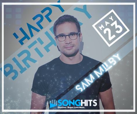 Happy Birthday Sam Milby!