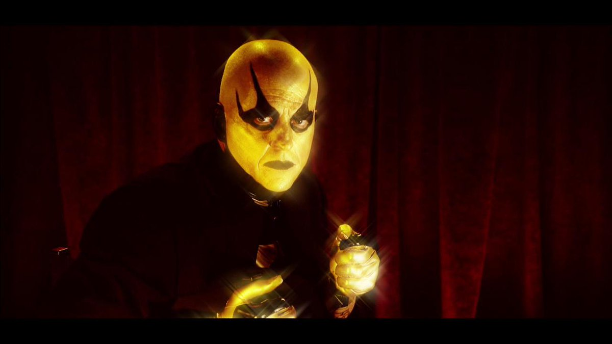 I'm back in the director's cha goldust