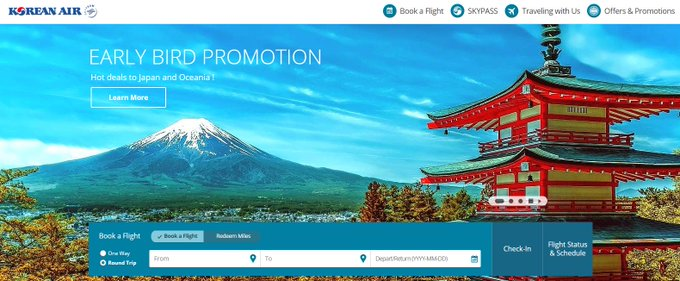 [PROMO] Early Bird Promotion https://t.co/UxLXUnDV0F Fly from Europe to Japan and Oceania at the best price. /AC https://t.co/GZVJYvhx9K