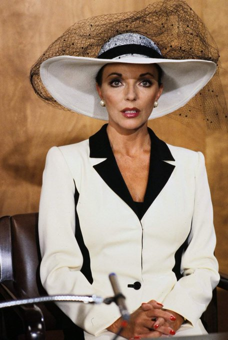 Happy Birthday to Joan Collins who turns 84 today!