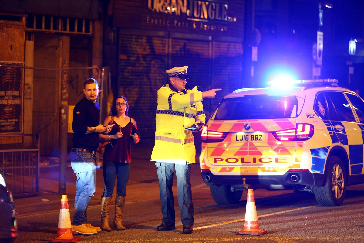 At least 19 dead, dozens injured in possible suicide bombing at Ariana Grande concert in England