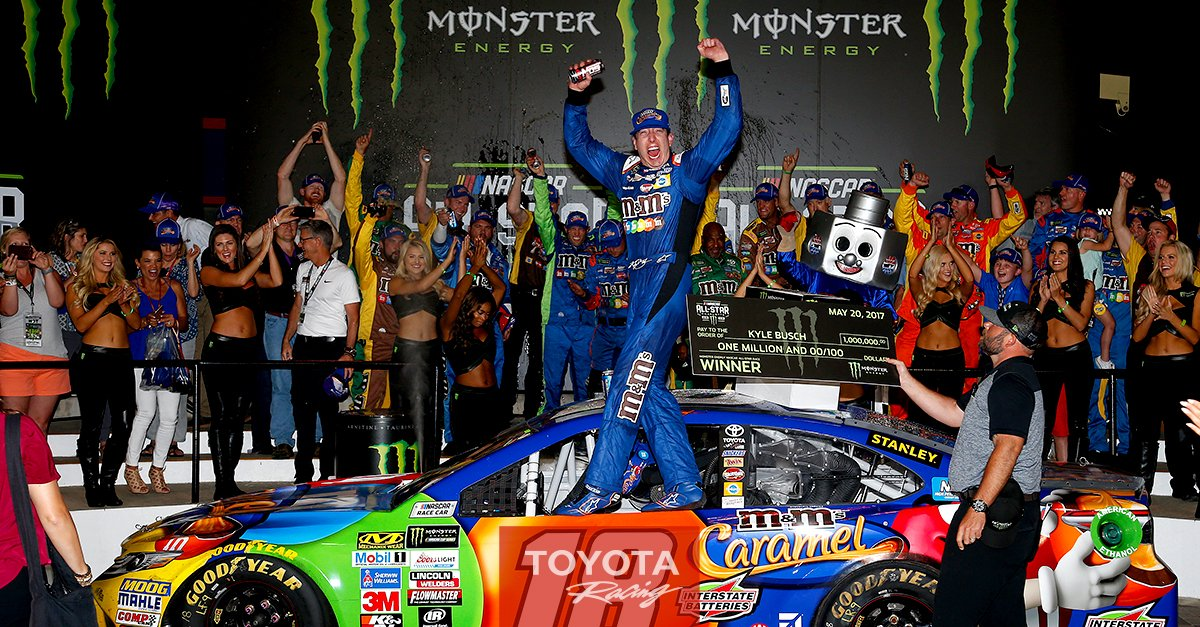 [#NASCAR]モンスターエナジー・NASCAR オールスターレース リリースを公開!カイル・ブッシュがオールスター初