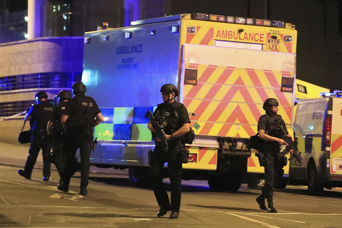 The Latest: Australian leader condemns Manchester blast