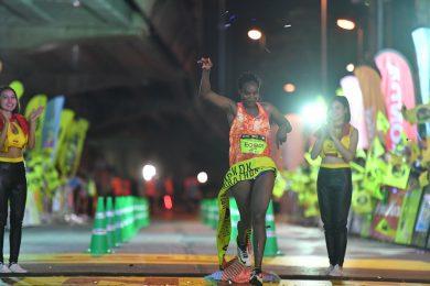 Kenyans win men and women's races at inaugural Bangkok Midnight Marathon (photos, video)
