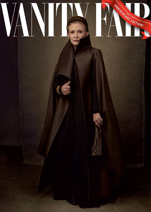 In celebration of Star Wars' 40th anniversary, see Vanity Fair's four exclusive covers: