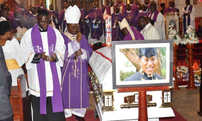 Archbishop Lwanga mourns Papal Knight Kalungi