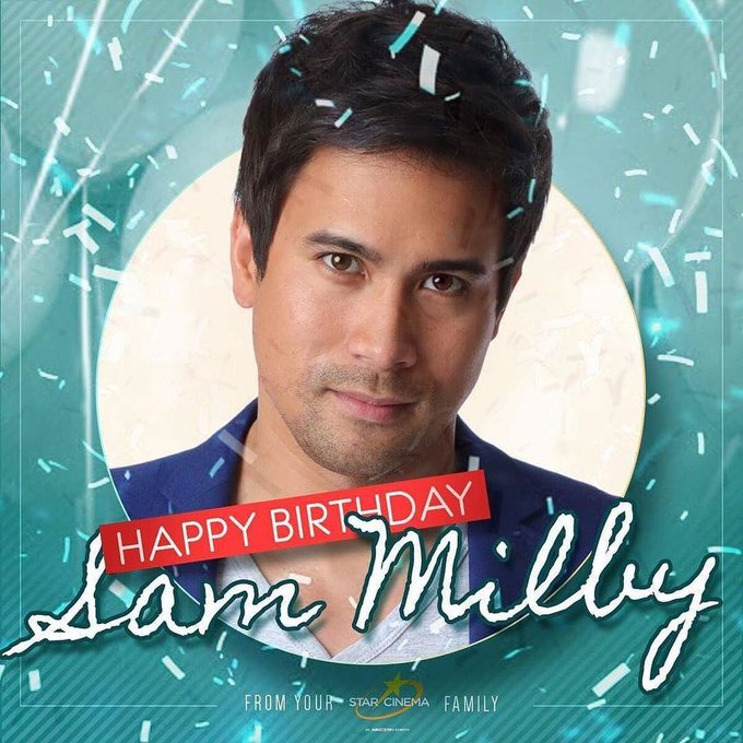 Happy birthday the super cool and super awesome Sam Milby from your Star Cinema family!