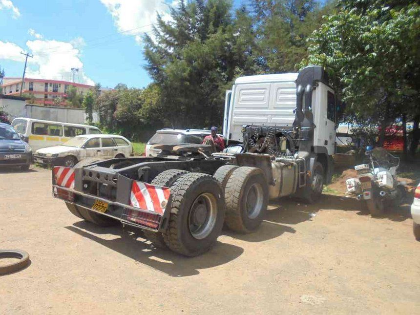 Driver arrested after truck crushes pedestrian to death in Kitale