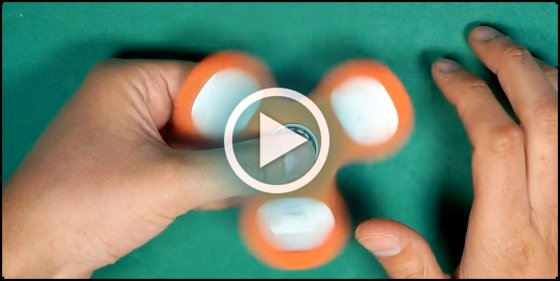 [VIDEO] Cómo hacer un #spinner en casa, el juguete sensación del momento...