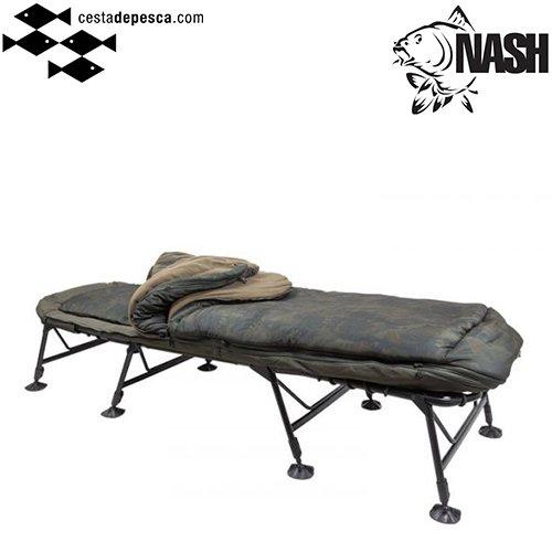 #Bedchair #Nash Indulgence 5 Season SS4 Wide para carpistas más altos. #carpfishing https://t.co/D5
