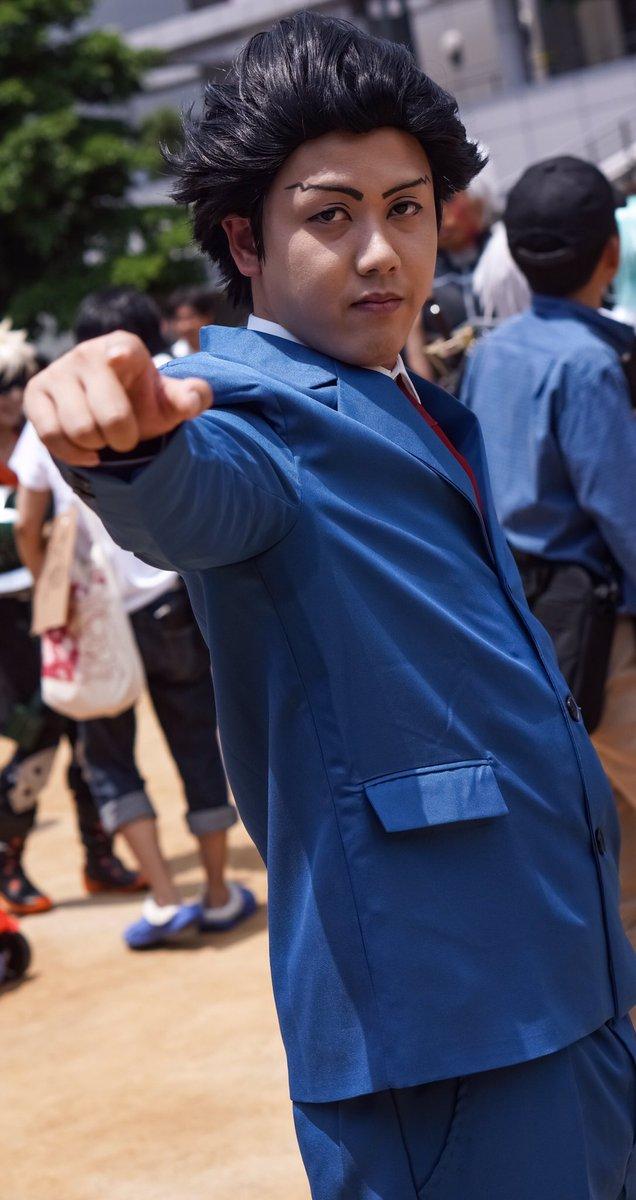 5月21日 ホココスりゅーじさん()逆転裁判成歩堂 龍一個人的にDS移植されてから死ぬほどプレイしてたゲームだったので、