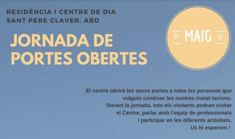 test Twitter Media - 📆 Aquest dissabte 27: Jornada de Portes Obertes a la Residència Sant Pere Claver de Verdú. No hi podeu faltar! https://t.co/traglpAiar