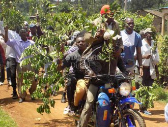 Smart Harvest: Coffee farmers demonstrate delay by cooperative to pay them