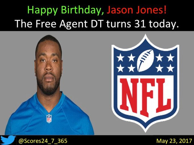 happy birthday Jason Jones!