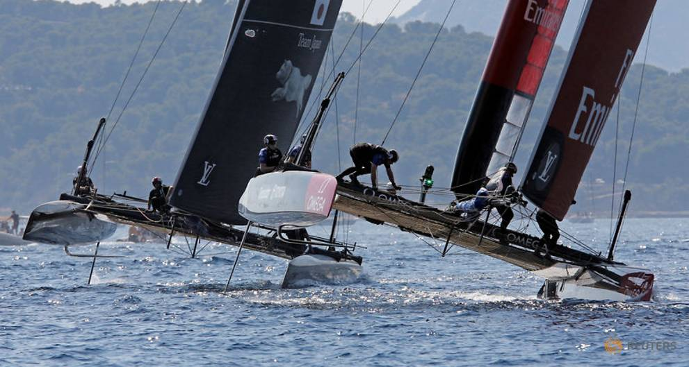 Flying foils push America's Cup crews to limit in Bermuda