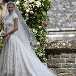 Pippa Middleton's wedding dress gets a thumbs up from fashionistas