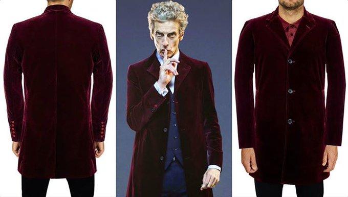 12th Doctor Who Peter Capaldi Maroon Velvet Coat  https://t.co/nez4yd1Wr5  From famous TV Series Doctor Wh ... https://t.co/eK0SbCYLl3